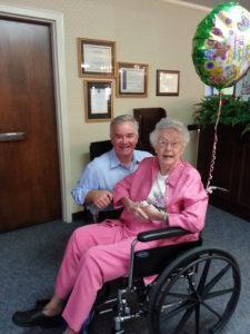 Jimmie Mahoney 100th Birthday