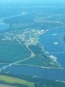 Cairo IL from the Air Sep 2013